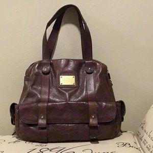 Tommy Hilfiger Brown Leather Bag